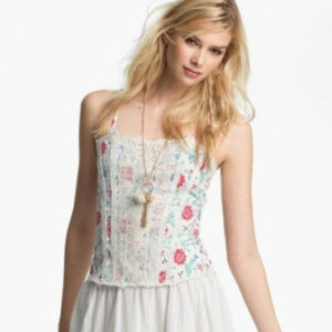 Free People Miss Lizzy Corset Tank Top (2)